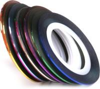Magideal Striping Tape Tips Sticker Nail Art(Multicolor)