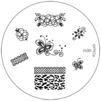 Konad Stamping Image Plate M50(Silver)