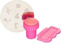 DIY 3 In 1 Nail Art Stamping Kit(Pink) - Price 99 80 % Off