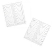 One Personal Care Salon Range French Manicure Round Tip Guides(White) - Price 129 56 % Off