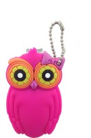 Moments OWL Nail clipper with silicone covered. Pink