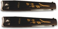 Vega Large Nail Clipper Black(Pack of 2 )