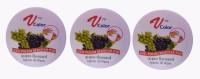 V-Color Nail Polish Remover Pads (Grapes-3)(120 g)