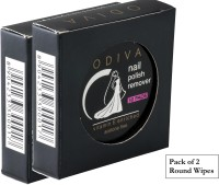 Odiva Nail Remover Round Wipes (2 Packs of 30 Pads)(60)
