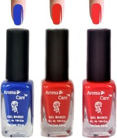 Aroma Care Pink+Red Matte Nail Polish Combo 6-8-550 Multicolor,(29.7 ml, Pack of 3) - Price 125 68 % Off