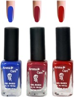 Aroma Care Red+Blue Matte Nail Polish Combo 6-9-549 Multicolor,(29.7 ml, Pack of 3) - Price 125 68 % Off