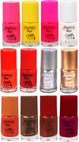 Fashion Bar FBNP Nail Polish Combo 12 Multicolor,(60 ml, Pack of 12)