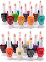 Foolzy Nail Polish Multicolor(168 ml, Pack of 24)