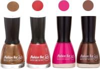 Fashion Bar New Multicolor Nail Polish Combo 109 Multicolor,(36 ml, Pack of 4)