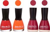 Fashion Bar New Multicolor Nail Polish Combo 119 Multicolor,(36 ml, Pack of 4)
