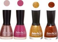 Fashion Bar New Multicolor Nail Polish Combo 91 Multicolor,(36 ml, Pack of 4)