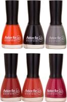 Fashion Bar New Multicolor Nail Polish Combo 1 Multicolor,(54 ml, Pack of 6)
