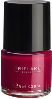 Oriflame Sweden pure Colour Nail Polish Ruby pink(8 ml) - Price 134 32 % Off