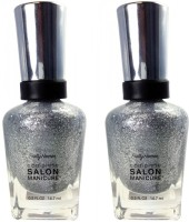 Sally Hansen Complete Salon Manicure Pack of 2 Diamond Jubilee-170(29.4 ml, Pack of 2)