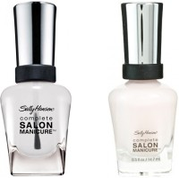Sally Hansen Complete Salon Manicure Pack Of 2 Pink Slip-170, Clear'd For Takeoff-010(29.4 ml, Pack of 2)