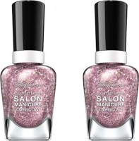 Sally Hansen Complete Salon Manicure Pack of 2 Blush Over Hue-590(29.4 ml, Pack of 2)