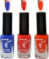 Aroma Care Red+Orange Matte Nail Polish Combo 6-8-585 Multicolor,(29.7 ml, Pack of 3) - Price 125 68 % Off