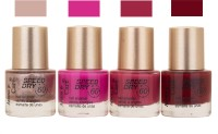 Aroma Care Speed Dry Profesional Nail Color 23506 Multicolor,(39.6 ml, Pack of 4)