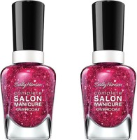 Sally Hansen Complete Salon Manicure Pack of 2 Strawberry Shields-630(29.4 ml, Pack of 2)