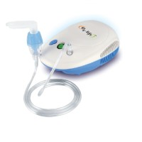 EZ Life EZNEB-101 Piston Compressor With Thermal Protector Nebulizer(White,Blue)