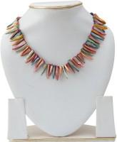 Taj Pearl Tribal Shell Necklace