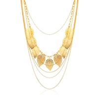 Moedbuille Beutifully Gorgeous Alloy Necklace