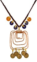 Retaaz Mystere Caress Copper, Brass, Wood, Alloy Necklace