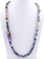 Silver Arts Agate Stone Necklace