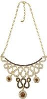 Taj Pearl Alloy Necklace