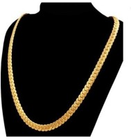 FashionCraft Daily Wear 24K Yellow Gold Plated Brass Chain