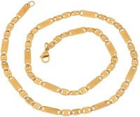 the jewelbox Gold-plated Plated Stainless Steel Chain