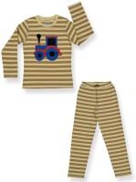 Ventra Kids Nightwear Boys Striped Cotton