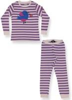 Ventra Kids Nightwear Girls Striped Cotton