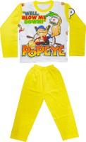 Smilee Kids Nightwear Boys Printed Cotton