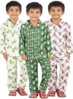 Meril Kids Nightwear Boys Graphic Print Cotton