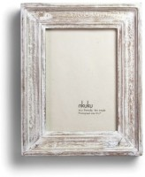 Wood Dekor Photo Frame(White, 1 Photos)