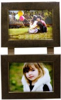 Divsam Generic Photo Frame(Brown, 2 Photos)