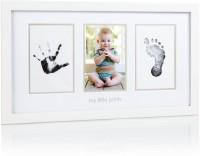 Pearhead Wood Photo Frame(White, 3 Photos)