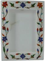 Pooja Creation Stoneware Photo Frame(White, 1 Photos)