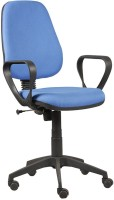 View Parin Fabric Office Arm Chair(Blue) Price Online(Parin)