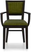Urban Ladder Aurelio Fabric Office Arm Chair(Green)