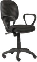 View Parin Fabric Office Arm Chair(Black) Price Online(Parin)