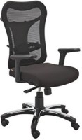 View Mavi Fabric Office Arm Chair(Black) Price Online(Mavi)
