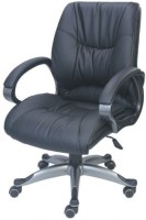 View Adiko Leatherette Office Arm Chair(Black) Furniture (Adiko)