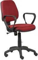 View Parin Fabric Office Arm Chair(Red) Price Online(Parin)