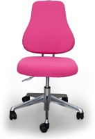 View Alex Daisy Ergo Leatherette Study Arm Chair(Pink) Furniture (Alex Daisy)