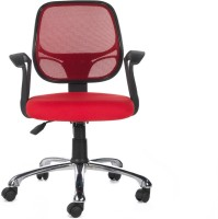View Bluebell Vertx Low Back Fabric Office Arm Chair(Red) Price Online(Bluebell)