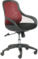 View Parin Fabric Office Arm Chair(Black, Red) Price Online(Parin)