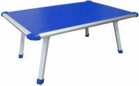 Muren Durable And Portable Kids Use Anywhere Table - Sqaure Solid Wood Study Table(Free Standing, Finish Color - Blue)