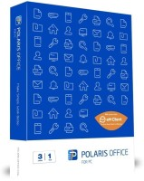 POLARIS OFFICE Polaris Office with Free Version of EM Client - 3 Users, 1 Year
